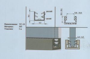 Уплотнитель 4-6,5 мм Могилёв