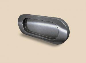 Ручка серебро глянец овальная Италия Могилёв
