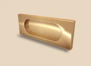 Ручка Золото глянец прямоугольная Италия Могилёв