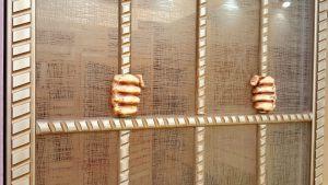 Алюминиевый профиль для шкафа купе эмаль с декоративной накладкой Могилёв