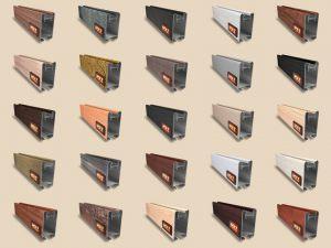 """Алюминиевый ламинированный профиль """"HOLZ"""" для шкафов купе и межкомнатных перегородок Более 100 цветов Могилёв"""