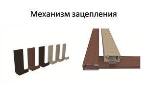 Механизм зацепления для межкомнатных перегородок Могилёв