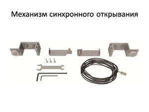Механизм синхронного открывания для межкомнатной перегородки  Могилёв