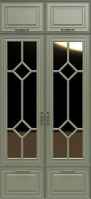 Фасад с фигурной филенкой эмаль Могилёв